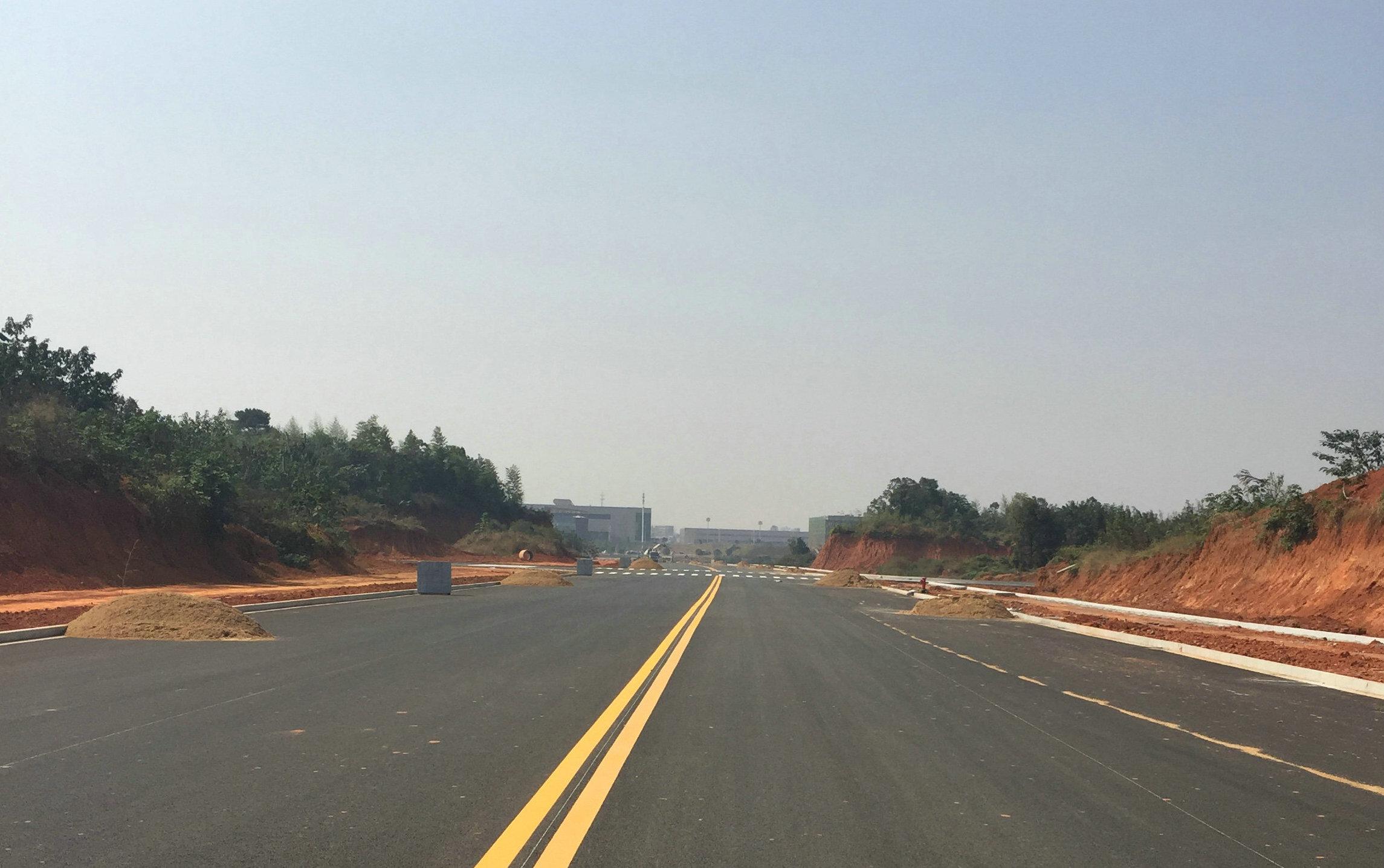 湘潭九华示范区泰富路(九华大道-兴隆路)道路工程